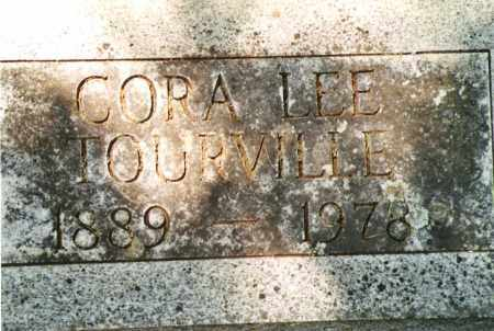 EVANS TOURVILLE, CORA LEE - Phelps County, Missouri | CORA LEE EVANS TOURVILLE - Missouri Gravestone Photos