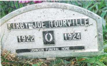 TOURVILLE, KIRBY JOE - Phelps County, Missouri   KIRBY JOE TOURVILLE - Missouri Gravestone Photos