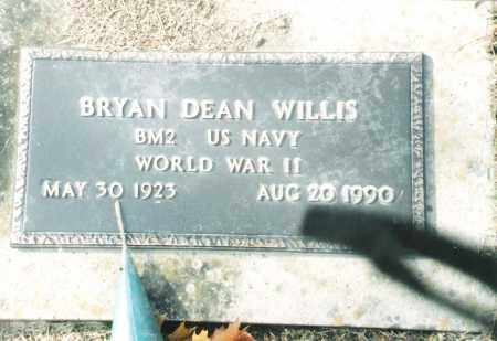 WILLIS, BRYAN DEAN VETERAN WWII - Phelps County, Missouri | BRYAN DEAN VETERAN WWII WILLIS - Missouri Gravestone Photos