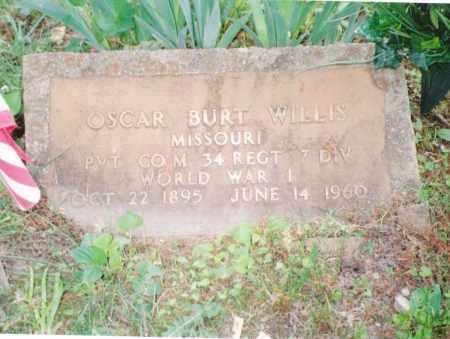 WILLIS, OSCAR BURT VETERAN WWI - Phelps County, Missouri | OSCAR BURT VETERAN WWI WILLIS - Missouri Gravestone Photos