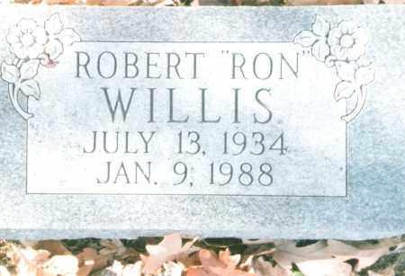 "WILLIS, ROBERT ""RON"" - Phelps County, Missouri | ROBERT ""RON"" WILLIS - Missouri Gravestone Photos"