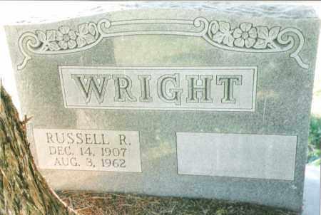 WRIGHT, RUSSELL R. - Phelps County, Missouri   RUSSELL R. WRIGHT - Missouri Gravestone Photos