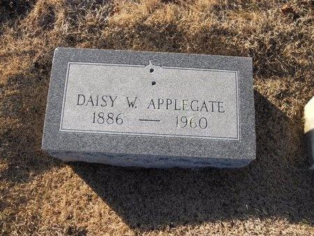 APPLEGATE, DAISY W - Pike County, Missouri   DAISY W APPLEGATE - Missouri Gravestone Photos