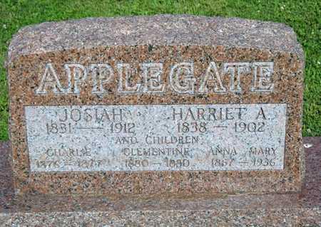 APPLEGATE, HARRIET ALICE - Pike County, Missouri | HARRIET ALICE APPLEGATE - Missouri Gravestone Photos