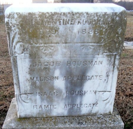 APPLEGATE, CLEMENTINE - Pike County, Missouri   CLEMENTINE APPLEGATE - Missouri Gravestone Photos