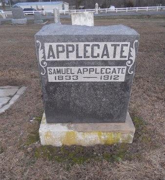APPLEGATE, SAMUEL - Pike County, Missouri | SAMUEL APPLEGATE - Missouri Gravestone Photos