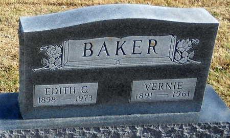 BAKER, VERNIE - Pike County, Missouri | VERNIE BAKER - Missouri Gravestone Photos
