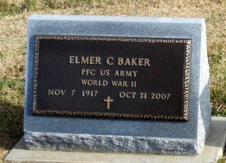 BAKER, ELMER C VETERAN - Pike County, Missouri   ELMER C VETERAN BAKER - Missouri Gravestone Photos