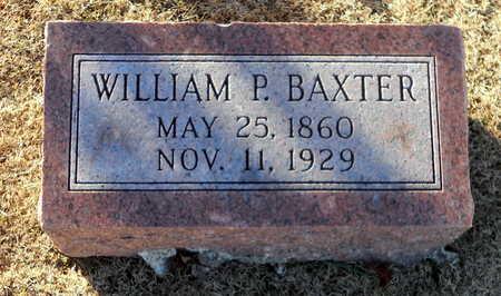 BAXTER, WILLIAM P - Pike County, Missouri | WILLIAM P BAXTER - Missouri Gravestone Photos