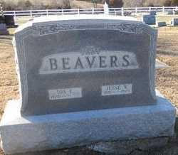 BEAVERS, JESSE W - Pike County, Missouri   JESSE W BEAVERS - Missouri Gravestone Photos