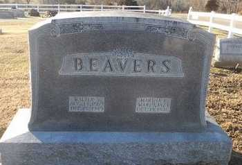 BEAVERS, WALTER SCOTT - Pike County, Missouri | WALTER SCOTT BEAVERS - Missouri Gravestone Photos