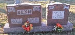 BENN, MASON CASH SR - Pike County, Missouri   MASON CASH SR BENN - Missouri Gravestone Photos