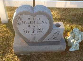 BLACK, HELEN LENA - Pike County, Missouri | HELEN LENA BLACK - Missouri Gravestone Photos