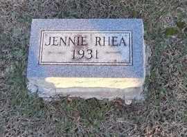 BRAMBLET, JENNIE RHEA - Pike County, Missouri | JENNIE RHEA BRAMBLET - Missouri Gravestone Photos