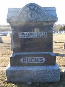 BUCKS, HENRY VINCIL - Pike County, Missouri | HENRY VINCIL BUCKS - Missouri Gravestone Photos