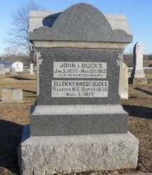 BUCKS, ELLEN - Pike County, Missouri | ELLEN BUCKS - Missouri Gravestone Photos