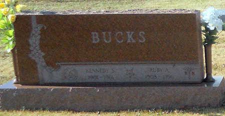 BUCKS, RUBY A  R. N. - Pike County, Missouri | RUBY A  R. N. BUCKS - Missouri Gravestone Photos