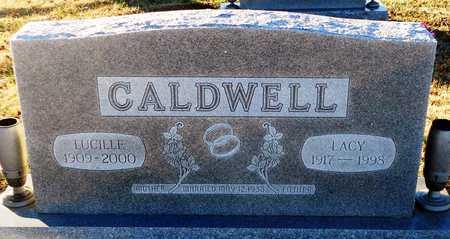 CALDWELL, LUCILLE - Pike County, Missouri | LUCILLE CALDWELL - Missouri Gravestone Photos