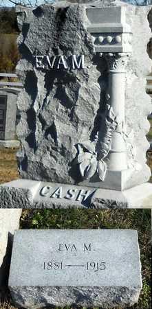 CASH, EVA M - Pike County, Missouri | EVA M CASH - Missouri Gravestone Photos