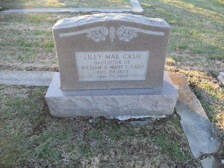 CASH, LILLY MAE - Pike County, Missouri | LILLY MAE CASH - Missouri Gravestone Photos