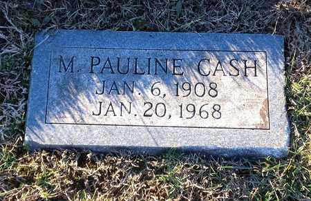 CASH, M PAULINE - Pike County, Missouri | M PAULINE CASH - Missouri Gravestone Photos