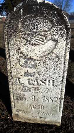 CASH, SARAH - Pike County, Missouri   SARAH CASH - Missouri Gravestone Photos