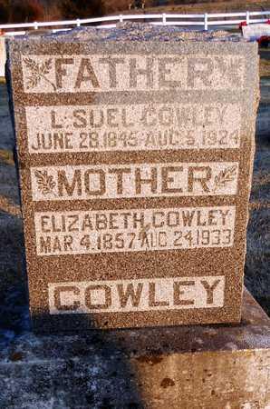 COWLEY, L SUEL - Pike County, Missouri | L SUEL COWLEY - Missouri Gravestone Photos
