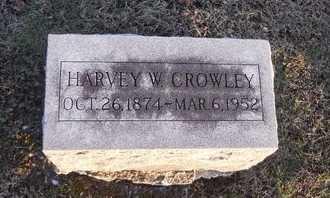 CROWLEY, HARVEY W - Pike County, Missouri | HARVEY W CROWLEY - Missouri Gravestone Photos