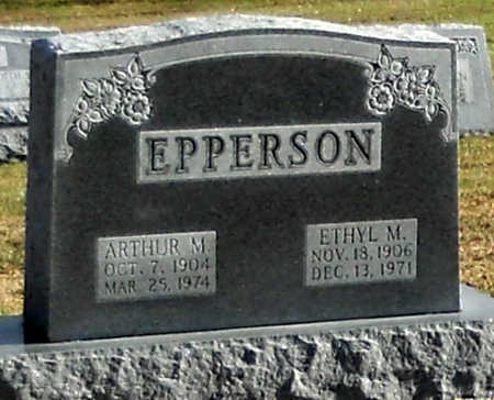 EPPERSON, ETHYL MARIE - Pike County, Missouri | ETHYL MARIE EPPERSON - Missouri Gravestone Photos