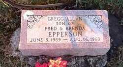 EPPERSON, GREGG ALLAN - Pike County, Missouri | GREGG ALLAN EPPERSON - Missouri Gravestone Photos