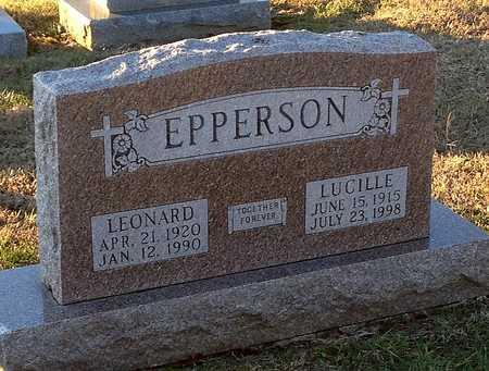 EPPERSON, LUCILLE - Pike County, Missouri | LUCILLE EPPERSON - Missouri Gravestone Photos