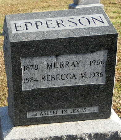 EPPERSON, JAMES MURRAY - Pike County, Missouri   JAMES MURRAY EPPERSON - Missouri Gravestone Photos