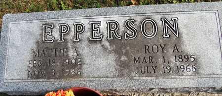 EPPERSON, ROY A - Pike County, Missouri | ROY A EPPERSON - Missouri Gravestone Photos