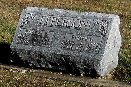 EPPERSON, ELMER GLENN - Pike County, Missouri | ELMER GLENN EPPERSON - Missouri Gravestone Photos