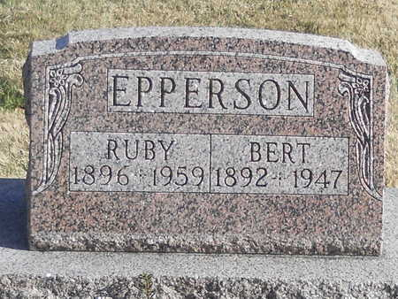 EPPERSON, MARY RUBY - Pike County, Missouri | MARY RUBY EPPERSON - Missouri Gravestone Photos