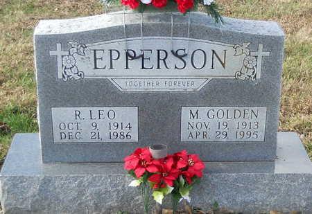 EPPERSON, R LEO - Pike County, Missouri   R LEO EPPERSON - Missouri Gravestone Photos