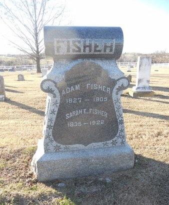 FISHER, SARAH E - Pike County, Missouri | SARAH E FISHER - Missouri Gravestone Photos