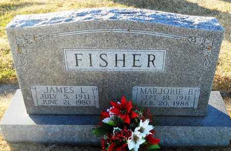 FISHER, JAMES L - Pike County, Missouri | JAMES L FISHER - Missouri Gravestone Photos