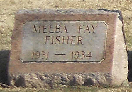 FISHER, MELBA FAY - Pike County, Missouri | MELBA FAY FISHER - Missouri Gravestone Photos
