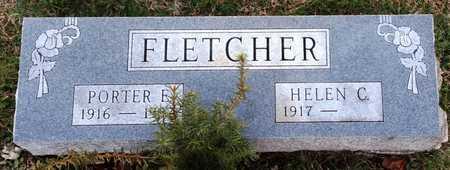 FLETCHER, PORTER E - Pike County, Missouri | PORTER E FLETCHER - Missouri Gravestone Photos