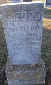 FORD, MURVIN THOMAS - Pike County, Missouri   MURVIN THOMAS FORD - Missouri Gravestone Photos