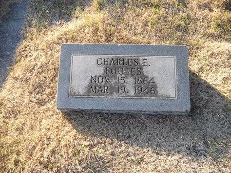 FOUTES, CHARLES E - Pike County, Missouri   CHARLES E FOUTES - Missouri Gravestone Photos
