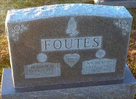 FOUTES, REUBEN N - Pike County, Missouri | REUBEN N FOUTES - Missouri Gravestone Photos