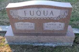 "FUQUA, ANNA MARY ""ANNIE"" - Pike County, Missouri   ANNA MARY ""ANNIE"" FUQUA - Missouri Gravestone Photos"