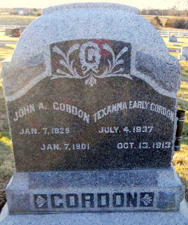 GORDON, JOHN ALEXANDER - Pike County, Missouri | JOHN ALEXANDER GORDON - Missouri Gravestone Photos