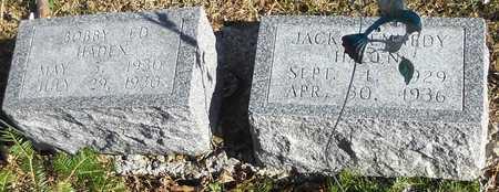 HADEN, JACK KENNEDY - Pike County, Missouri | JACK KENNEDY HADEN - Missouri Gravestone Photos