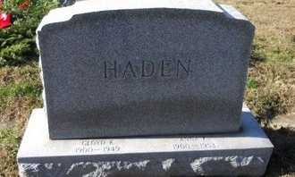 HADEN, GLOYD KENNEDY - Pike County, Missouri | GLOYD KENNEDY HADEN - Missouri Gravestone Photos