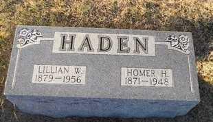 HADEN, HOMER HARRISON - Pike County, Missouri | HOMER HARRISON HADEN - Missouri Gravestone Photos