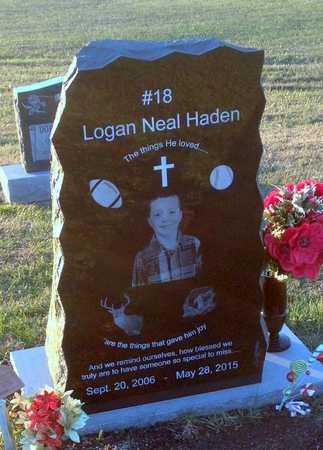 HADEN, LOGAN NEAL - Pike County, Missouri   LOGAN NEAL HADEN - Missouri Gravestone Photos