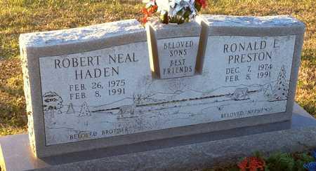 HADEN, ROBERT NEAL - Pike County, Missouri | ROBERT NEAL HADEN - Missouri Gravestone Photos